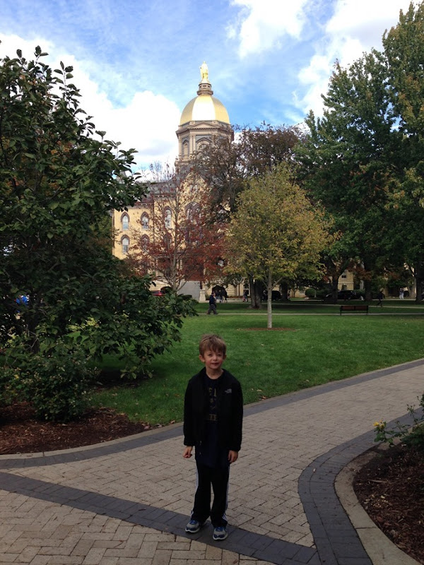 Notre Dame Game 002