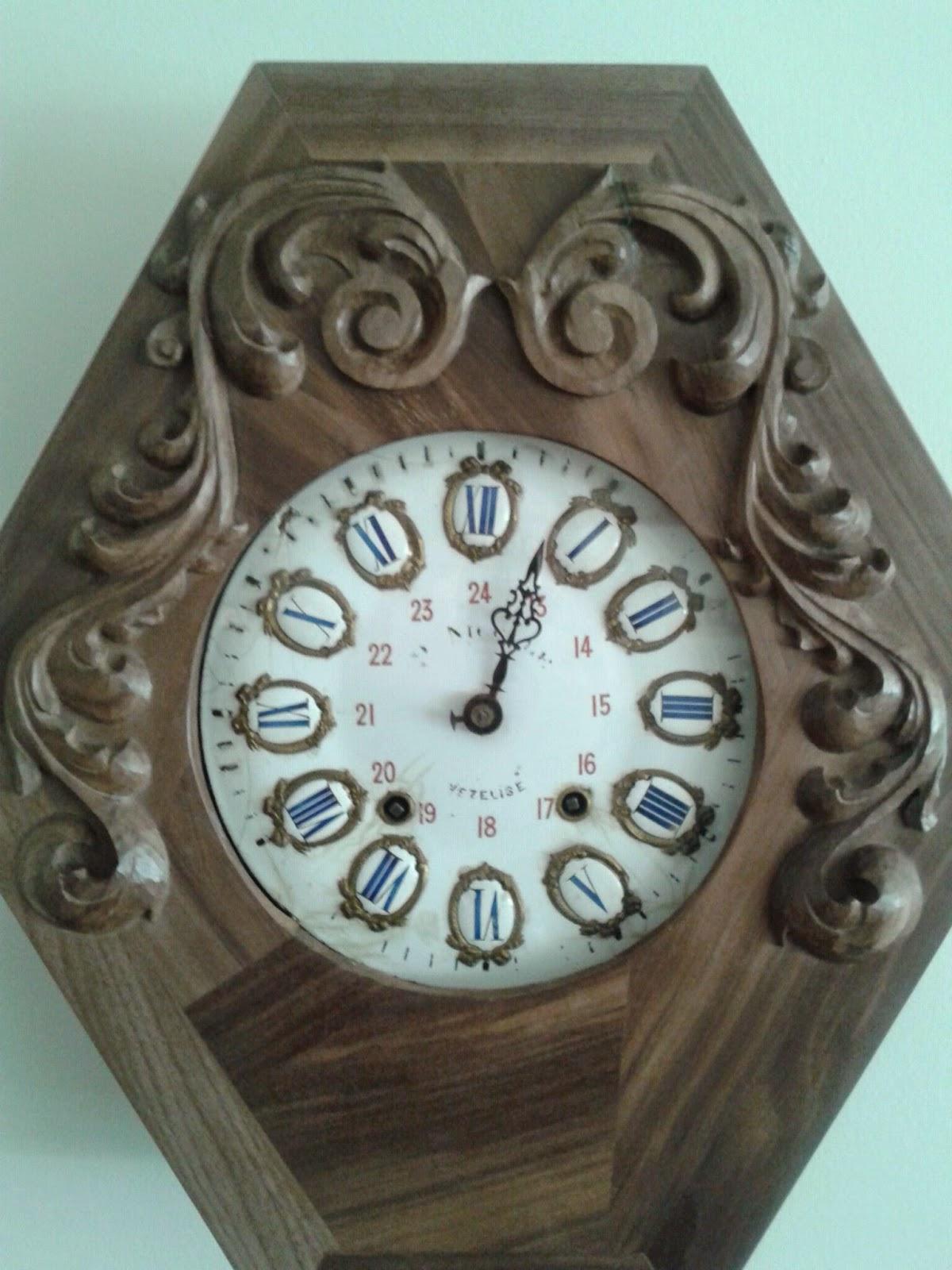 Reloj antiguo restaurado - Carpinteros en malaga ...