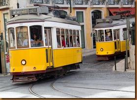 Lisbon, trams