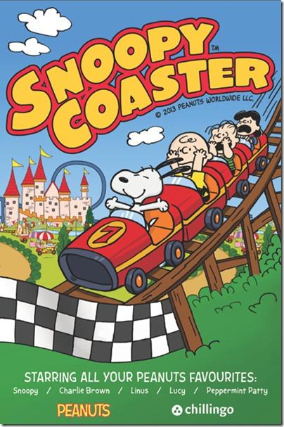 Snoopy coaster 12