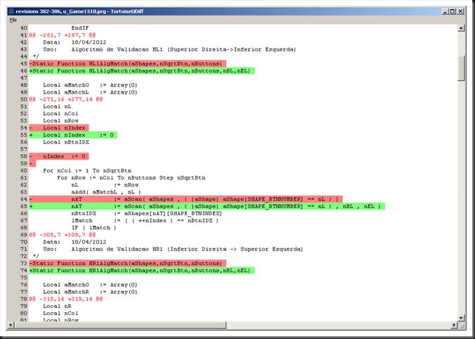aScan Exemplo de Otimização