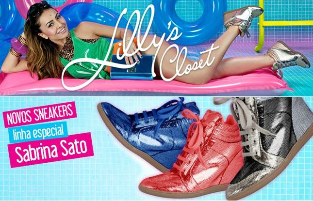lillys closet sneaker sabrina sato