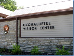 0382 North Carolina - Smoky Mountain National Park - US 441 (Newfound Gap Road) - Oconaluftee Visitor Center