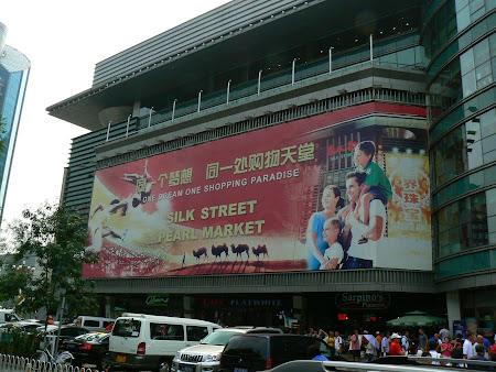 China shopping: Silk Market Beijing