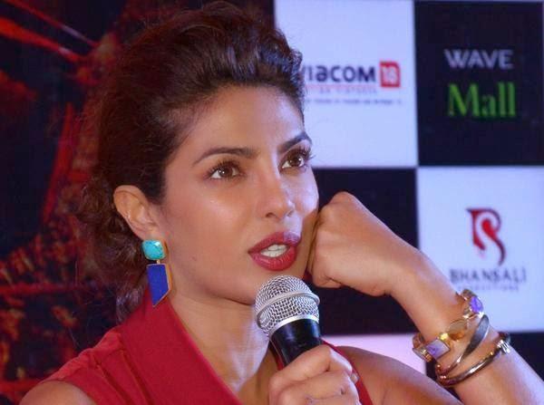 Priyanka Chopra At The Press Conference Of Mary Kom