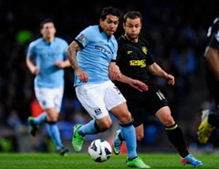 Hasil Manchester City vs Wigan Athletic