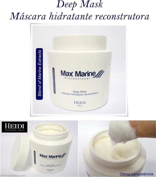máscara hidratante reconstrutora- Heidi