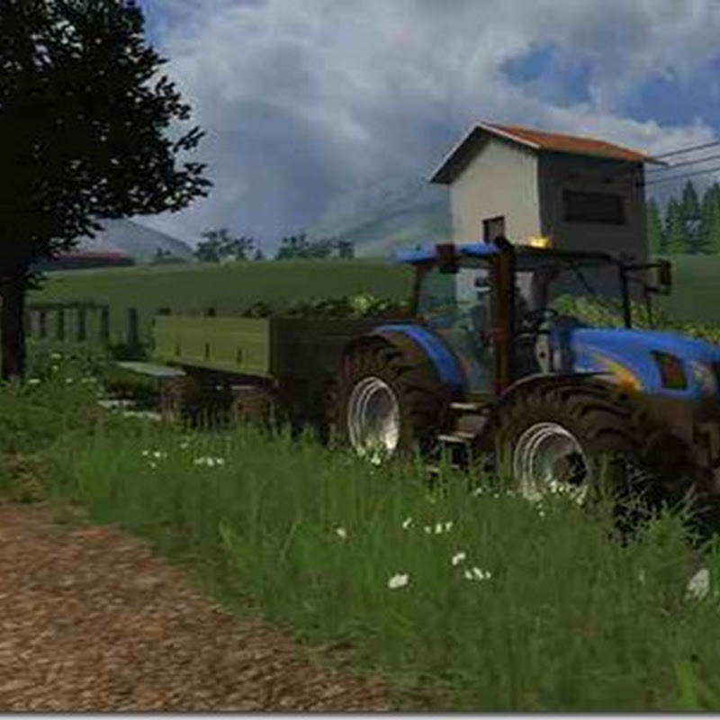 Farming simulator 2011 - New Holland TS 135A (Trattore)