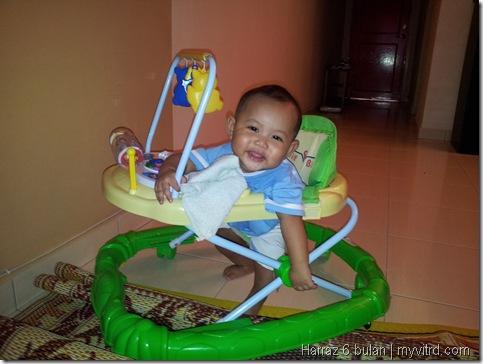 Muhammad Harraz Fahim 6 Bulan