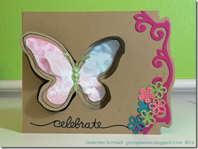 Celebrate | Spring card by @gscrapbooks