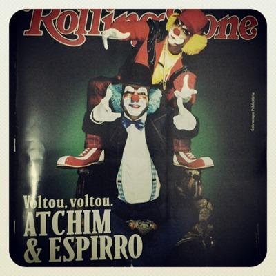 Atchim e Espirro Rolling Stone