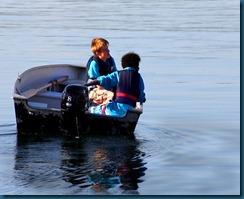 gutter i båt1