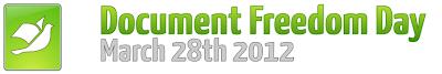 Document Freedom Day 2012 - 28 Marzo