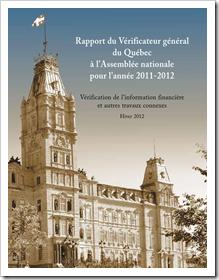 Rapport vérificateur 2011-2012