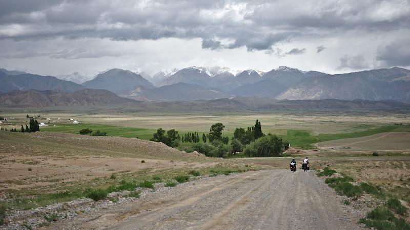 Starea drumurilor principale din Kyrgysta.