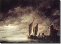 dordrecht_harbour_by_moonlight-large