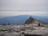 Descending towards South Peak on Kinabalu (Daniel Quinn, July 2011)