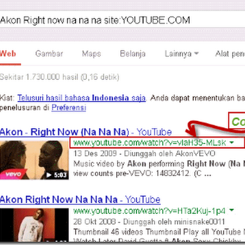 Cara Download File Mp3 dari YOUTUBE.COM