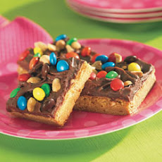 Peanut Butter Fudgy Bars