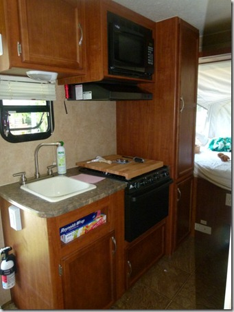 camper kitchen
