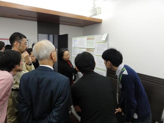 Mariko explaining
