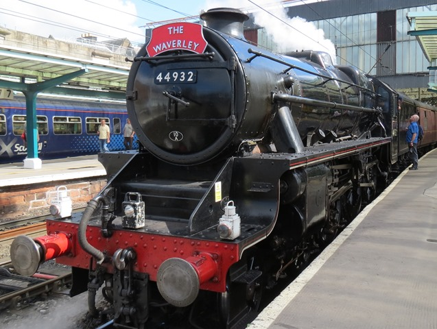 Black no 44932 in Carlisle