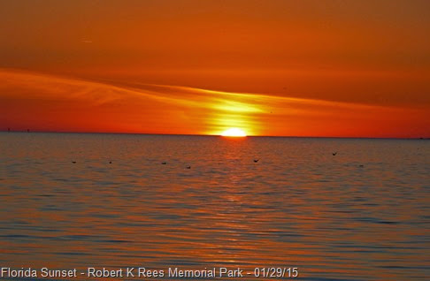 Florida Sunset - Robert K Rees Memorial Park