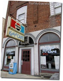 Kathy's Cafe in Morgantown, Indiana...