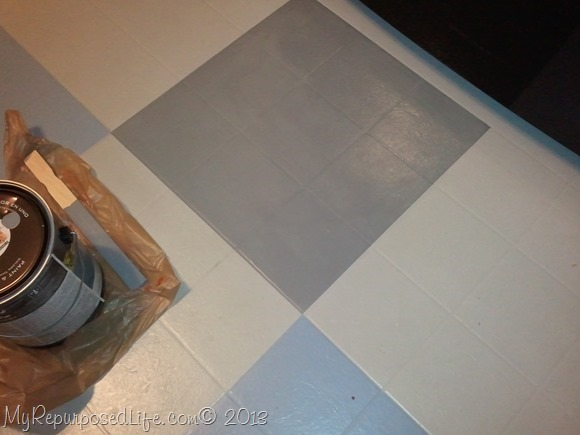 Painting A Kitchen Floor