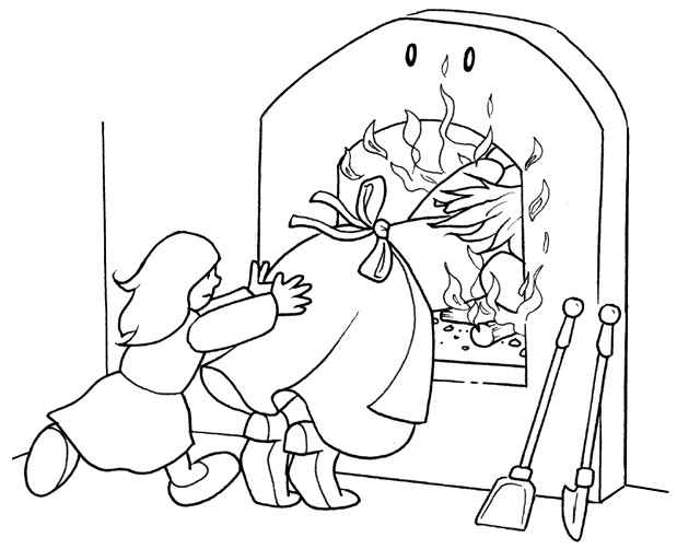 hansel si gretel coloring pages - photo#19