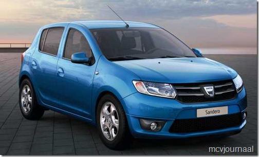 Prijs Dacia Sandero 2013 bekend 03