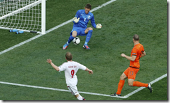 Dinamarca le ganó a Holanda