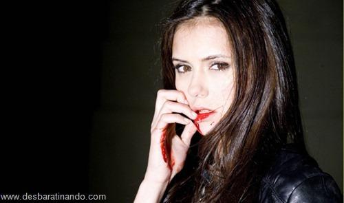 nina dobrev linda sensua sexy sedutora fotos Vampire Diaries desbaratinando (19)