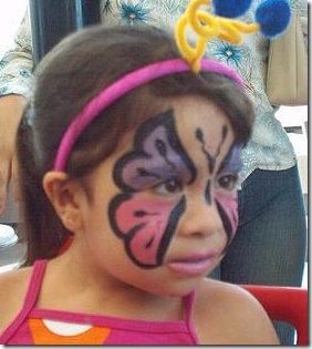 maquillaje mariposa halloween (11)