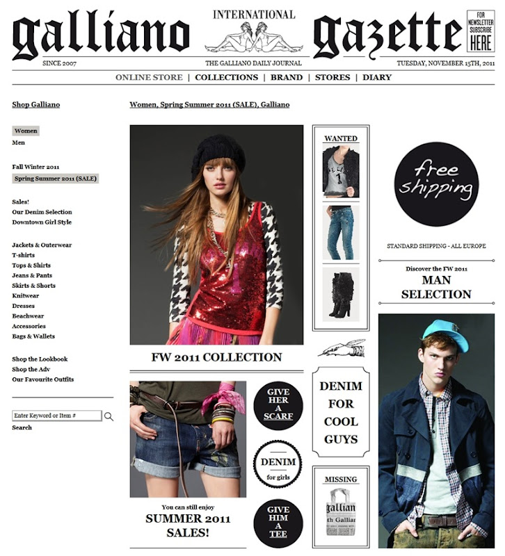 Gallianostore.com page 2