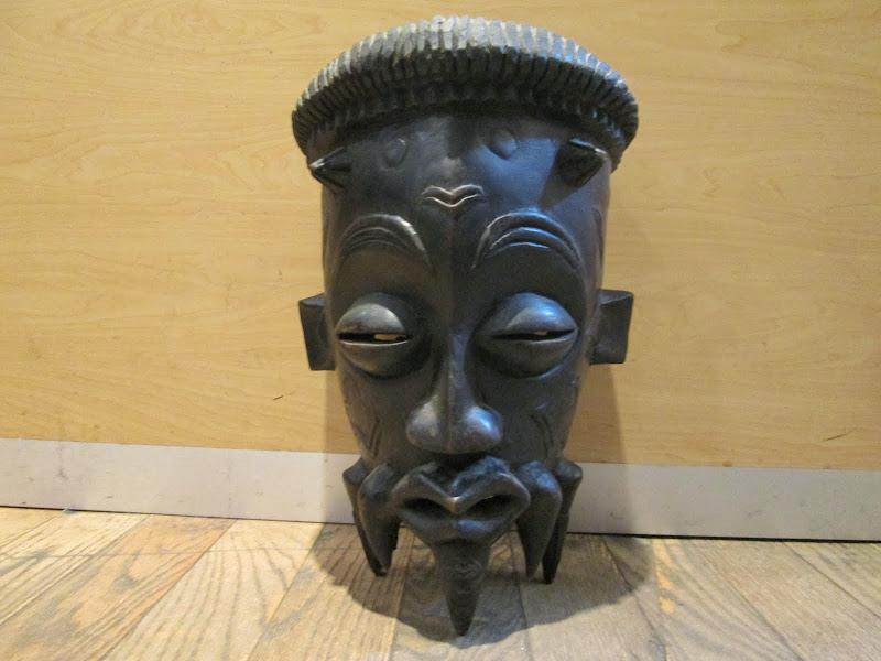 Tchokwe Ebonized Mask