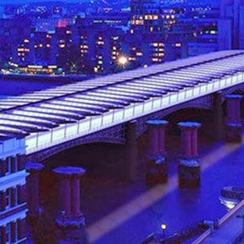 BLACKFRIARS BRIDGE: THE WORLD'S LARGEST SOLAR BRIDGE