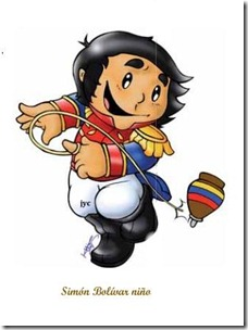 simon bolivar ni&ntilde;o color jugarycolorear 5jpg 2