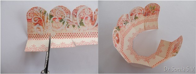 Paper Basket tutorial  3