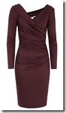 Diane von Furstenberg Ruched Jersey Dress