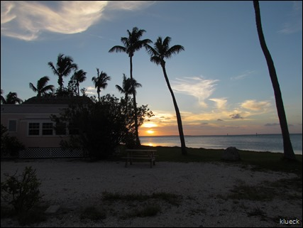 Sunset at Sunshine Key Rv Resort