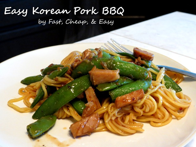 korean pork bbq