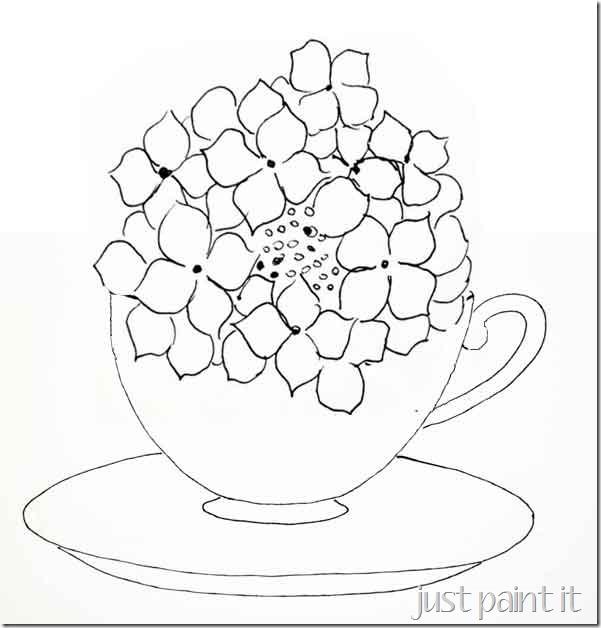 hydrangea-in-teacup-printab