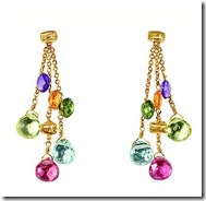 Marco Bicego multi stone earrings
