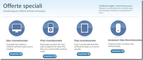 Offerte Speciali Apple Prodotti Ricondizionati Certificati Apple