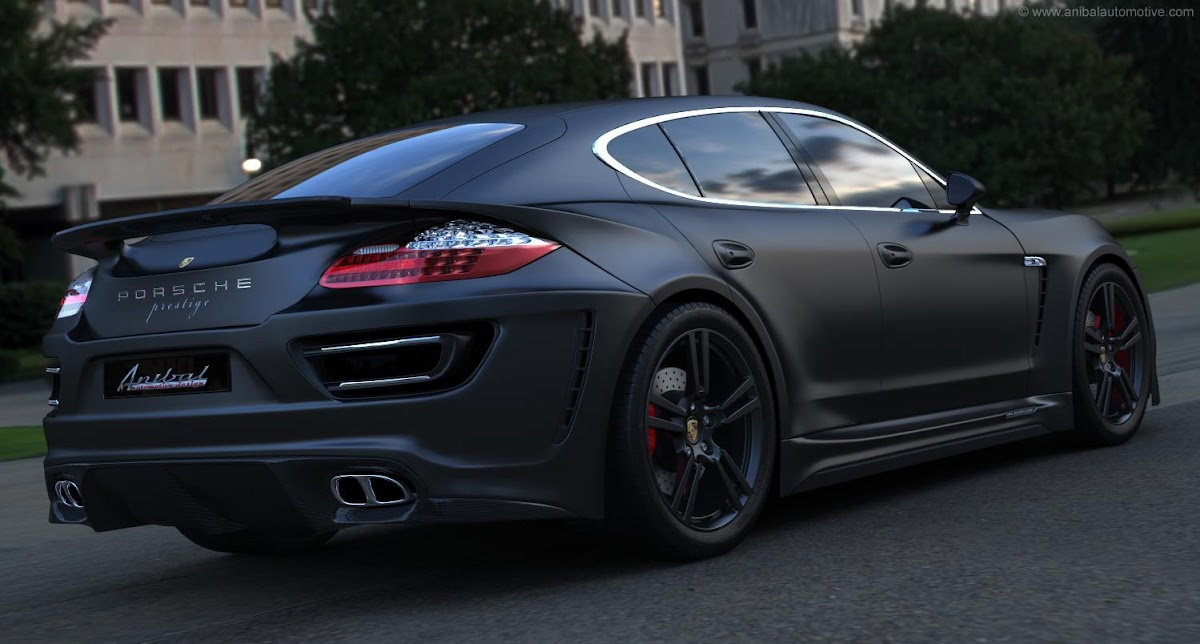 Canadas Anibal Proposes a New Outfit for the Porsche Panamera