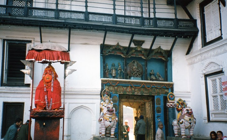 Imagini Nepal: palat regal Kathmandu