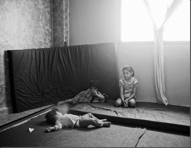 Syrian refugee children living in a rented apartment in East Amman. (Moises Saman/Magnum Photos for Save the Children)