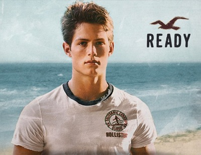 Chad Buchanan @ Chosen by Bruce Weber for Hollister Co., 2011