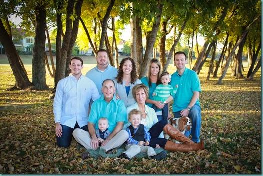 NorthShearerTenney Family Christmas Photo